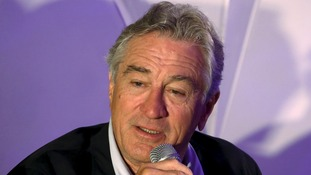 De Niro said it had become clear the film would not contribute to 'the discussion I had hoped for'