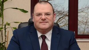 Councillor Darren Cooper.