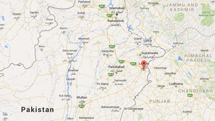 At least 10 people have been killed in a blast in Lahore