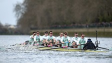 Cambridge win The Boat Race.