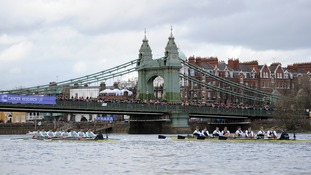 Cambridge end Oxford's winning streak in men's boat race