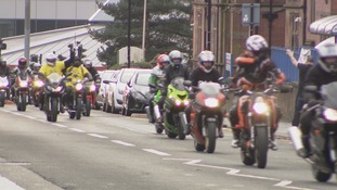 200 bikers deliver Easter cheer to Sheffield Children's Hospital kids