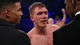 Nick Blackwell put in induced coma after Eubank Jr fight