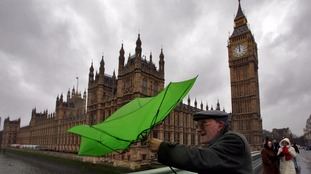 Severe gales to continue with heavy rain amid Severe Weather Warning.