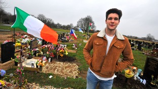Grieving families ordered: 'Remove flags from graves'