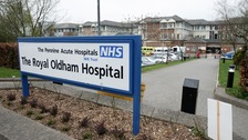 Oldham Hospital are urging people only to attend A&E if absolutely necessary