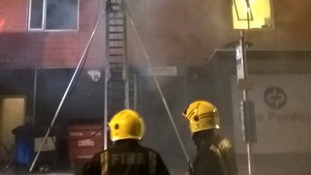 Firefighters rescue 13 people, including five children, from blaze in Hounslow