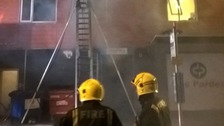 13 including five children rescued from Hounslow blaze.