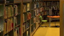 Nearly 350 libraries have closed in Britain over the past six years