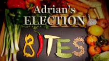 Adrian's Election Bites logo.