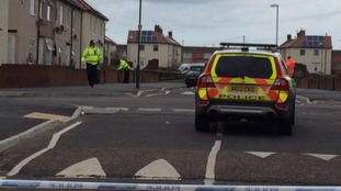 Police activity in South Shields