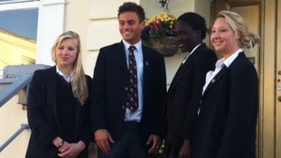 Stars of London 2012 return to Plymouth College
