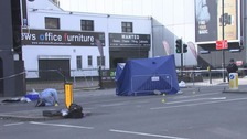 The driver fled the scene of the accident in Old Street