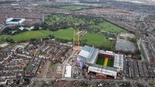 Police helicopter captures stunning Merseyside aerials