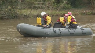 Search for missing kayaker dragged under river in Guildford by strong currents