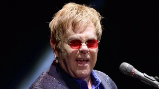 Sir Elton John sued for sexual harassment by US police officer