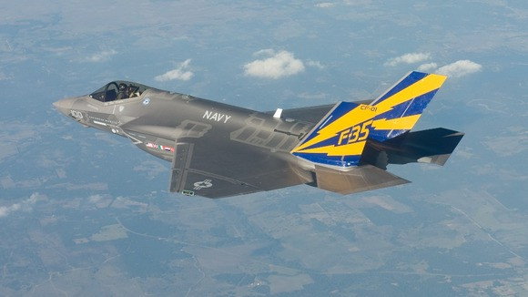 F35 in flight