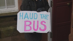 Campaigners petition to save bus services