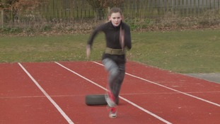 Borders teen breaks triple-jump record