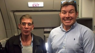 Briton who posed for plane hijack photo 'looking forward to coming home', says mother