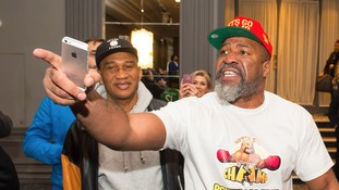 Haye confronted by Briggs at heated press conference