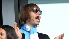 Liam Gallagher Manchester City Real Madrid