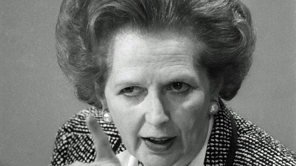 Margaret Thatcher emphatically rejects the Argentine invasion of the Falklands