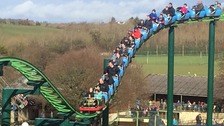 The Big One rollercoaster