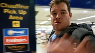 Brit who posed for 'selfie' with Egypt hijacker snatches phone off ITV News camerawoman
