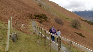Campaign to fix flood-damaged footpaths on popular Lake District mountain