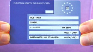 The EHIC card