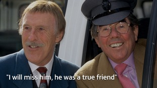 Sir Bruce Forsyth pictured with Ronnie Corbett in1994.