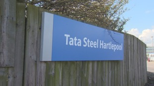 Tata Steel' Hartlepool site.