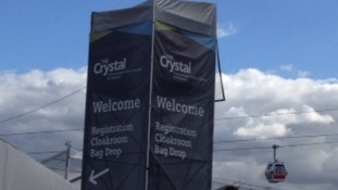 The Crystal site.