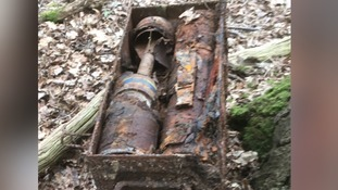 Live World War II rockets found behind a bus stop