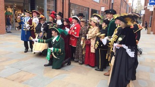 Town Criers in Beverley