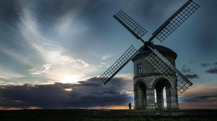 Moody skies behind the Chesterton Windmill, Warwickshire