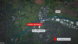 Teenager found in canal