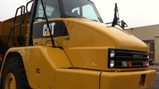 Caterpillar branded lorry