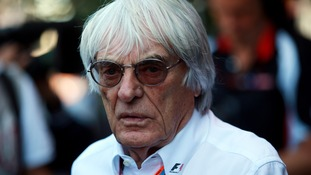Ecclestone hits back at Formula One 'windbag' drivers