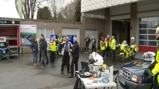 Borders bikers safety day