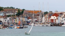 Police were called to Weymouth Harbour after reports that a body had been found in the sea