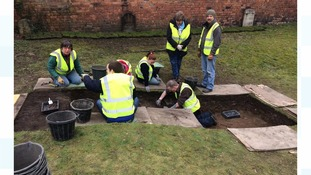Interesting artefacts unearthed in medieval Lincolnshire graveyard