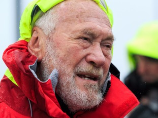 Sir Robin Knox-Johnston founded the round the world race in 1995.