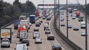 Man arrested after driver killed by lorry on M25