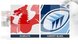 Scarlets v Blues