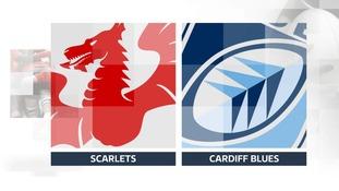 Scarlets Cardiff Blues