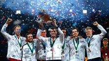 The Davis Cup winning team