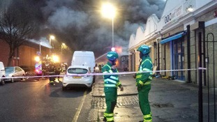 Bakery fire in Tottenham