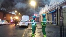 Bakery fire in Tottenham